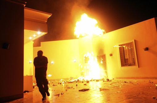 Ataque contra el consulado de EEUU en Benghazi